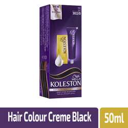 Koleston Hair Color Creme 302/0 Black 50ml (1x12Pcs)