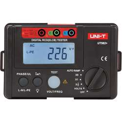 UNI-T UT582+ Digital RCD (ELCB) Tester 1000 Count
