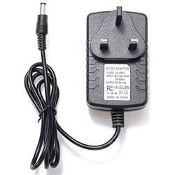Voltron-6V 2A Switching Power Adapter AC-DC With 3Pin UK Plug