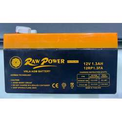 Voltron-Raw Power VRLA AGM Battery 1.3A-12V