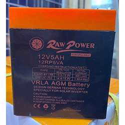 Voltron-Raw Power VRLA AGM Battery 5A-12V