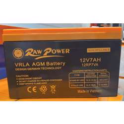 Voltron-Raw Power VRLA AGM Battery 7A-12V