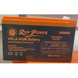 Voltron-Raw Power VRLA AGM Battery 12A-12V