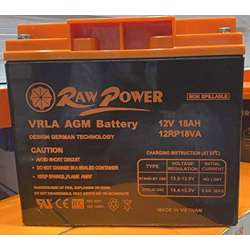 Voltron-Raw Power VRLA AGM Battery 18A-12V