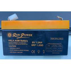 Voltron-Raw Power VRLA AGM Battery 1.2A-6V