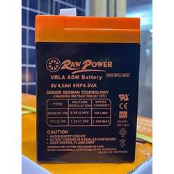 Voltron-Raw Power VRLA AGM Battery 4.5A-6V