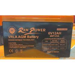 Voltron-Raw Power VRLA AGM Battery 12A-6V