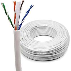 Voltron-CAT6e Cable Roll 305Meter (Cat6 Ethernet Solid Bulk Cable Roll (23 AWG, UTP))