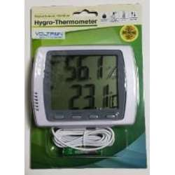 Voltron VHT9222 Indoor/Outdoor LCD Digital Hygro Thermometer -50 to +70C