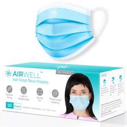 Airwell Face Masks (50/pack)