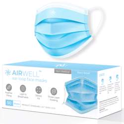 Airwell Face Masks Small (50/pack)