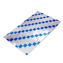 Falcon Foil Wrap Blue Hex (1 Pack X 500 Sheets)