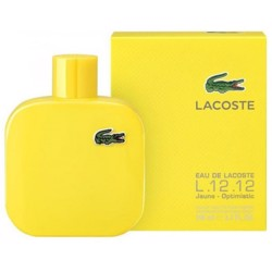 Lacoste Eau De Jaune Optimistic (M) Edt 100Ml Tester