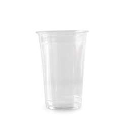 Somo Plastic Clear Pet Cup With Lid 12 Oz – 350 Cc (1 Pack X 50 Pieces)