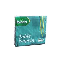 Napkin Green 33 X 33 Cm (1 Pack X 50 Sheets)