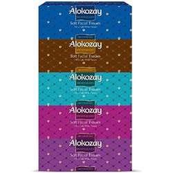 Alokozay Soft Facial Tissue - Pack of 5 Boxes (5 x 150 Sheets x 2 Ply)