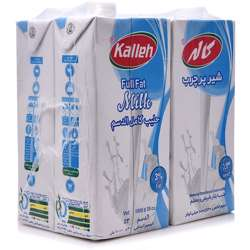 Kalleh Long Life Milk Full Cream - (1Ltr x 4pcs)