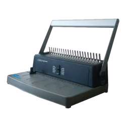 Eagle Spiral Binding Machine CB-210 (Comb-Manual) - Grey/Silver