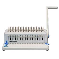 Eagle Spiral Binding Machine CB-221 Plus (Comb-Manual) - White