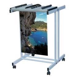 Viewplan Top Loading Drawing Trolley -Ct-A0