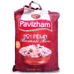 Pavizham 1121 Indian Basmati Rice 10 Kg