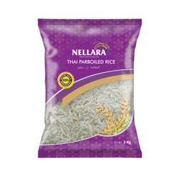 Nellara Parboiled Rice Thailand  2kg