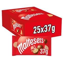 Maltesers Chocolate Bars 37gm x 25 bars
