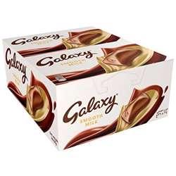 Galaxy Smooth Milk Chocolate Bar 36gm x 24 bars