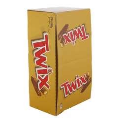 Twix Twin Chocolate - 50 gm x 25 bars