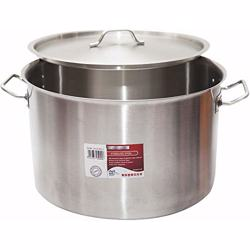 Chefset Steel Cooking Pot With Lid 55cm