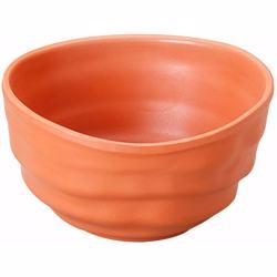 "Dinewell Melamine Terracota Bowl 4.25"""