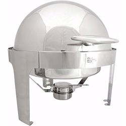 Chefset Round Chafing Dish Roll Top 6L