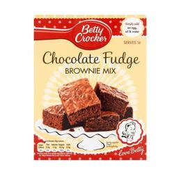 Betty Crocker Light Choco Fudge Browine Mix 500g