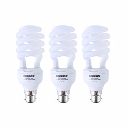 Geepas GESL3127 3-Piece Combo Energy Saving Light