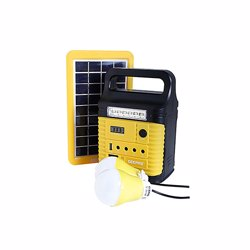Geepas GPS5901_2 Rechargeable Home Solar System