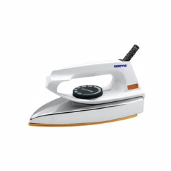 Geepas GDI7729 Dry Iron with Non-stickTeflon Coated Plate