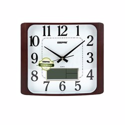 GeepasGWC4801 Wall Clock with LCD display