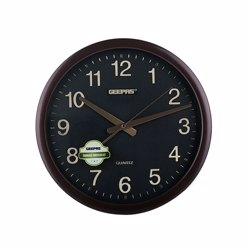 Geepas GWC4811 Wall Clock with Embossed numbers