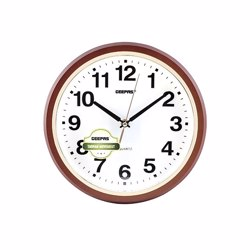 Geepas GWC4817 Wall Clock with Embossed numbers