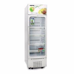 Geepas GSC6548 Show Case Nofrost Single Door Fridge, 280L - White