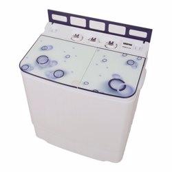Geepas GSWM6473 Mini Semi-automatic Washing Machine, 3.5kg