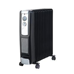 Geepas GRH9102 13 Fins Oil Filled Radiator Heater with Fan
