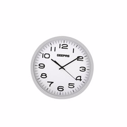 Geepas GWC26016_1 Wall Clock - White