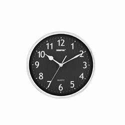 Geepas GWC4815_2 Wall Clock - Black and White
