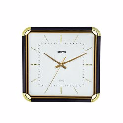 Geepas GWC3384 Wall Clock with 3D Decoration - White