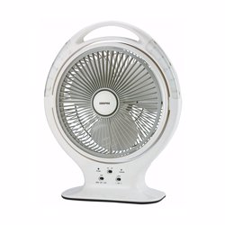 "Geepas GF951 14"" Rechargeable Table Fan"