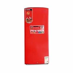 Geepas GRF2257BXE Semi Auto Defrost Single Door Refrigerator, 225L