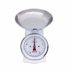 Geepas GBS4179 Kitchen Scale with Adjustable Scale, 5Kg