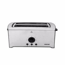 Geepas GBT6153 4-Slice Bread Toaster, 400x150x165mm