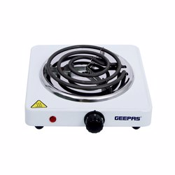 Geepas GHP7577 Electric Single Hot Plate with Temperature Control